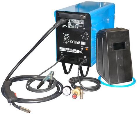 GÜDE Schutzgas-Schweißgerät MIG 155/6W