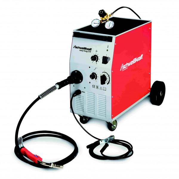 SCHWEIßKRAFT Schutzgas-Schweißgerät Easy-MAG 210