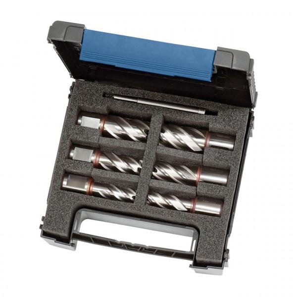 HSS-Standard Kernbohrer-Set KBK, 13-22 mm