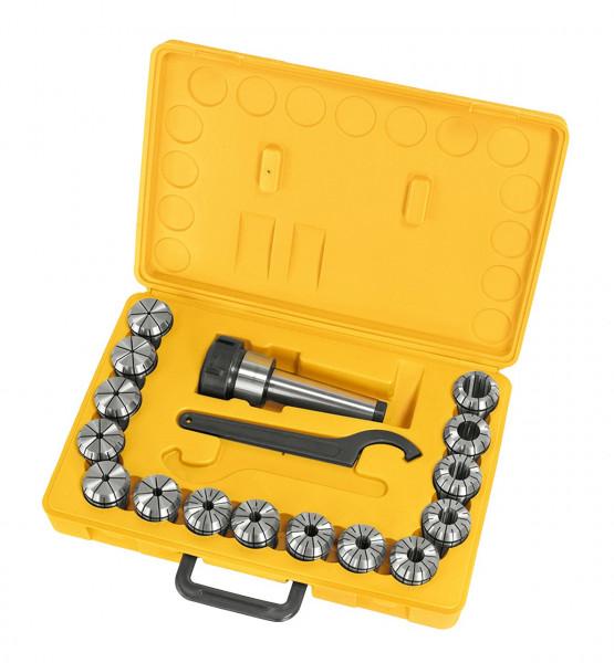 Fräser-Spannzangenfutter-Set ER40, MK 4, 3 - 25 mm