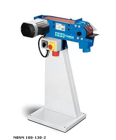 Metallbandschleifmaschine MBSM 100-130-2 SET Metallkraft