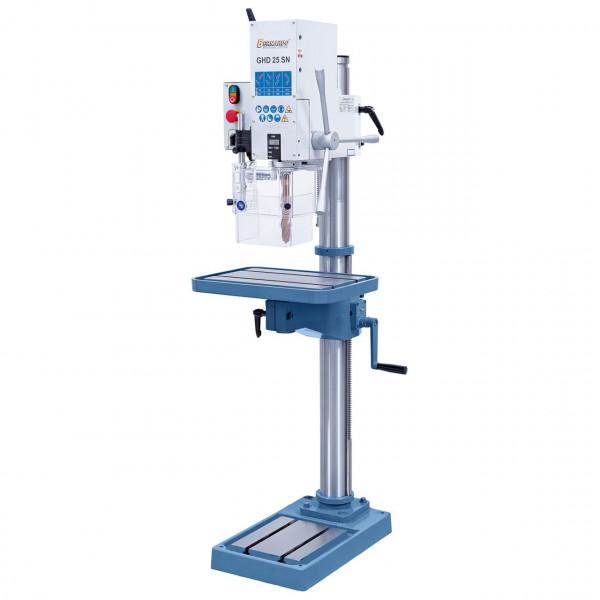 Getriebe-Säulenbohrmaschine GHD 25 SN m. digitaler Pinolenhubanzeige