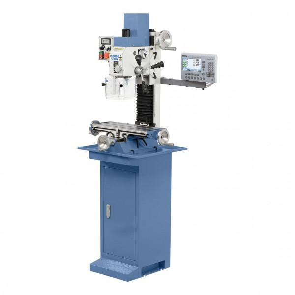 Bohr- und Fräsmaschine KF 25 D Vario inkl. 2-Achs-Digitalanzeige