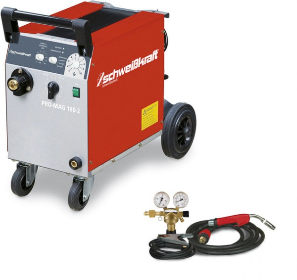SCHWEIßKRAFT Schutzgas-Schweißgerät PRO-MAG 180-2