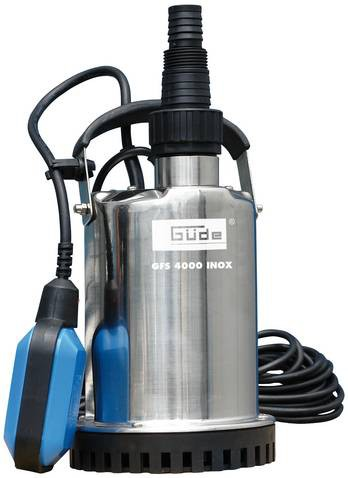 GÜDE Flachsaugerpumpe GFS 4000 INOX