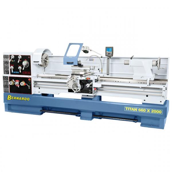 Produktions-Drehmaschine Titan 660 x 2000