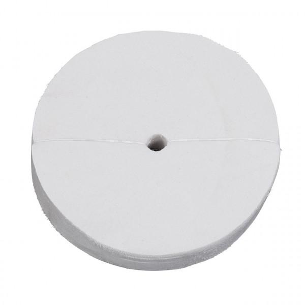 Molton-Polierscheibe lose 250 x 25 x 20 mm