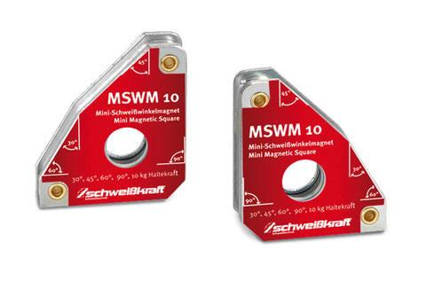 SCHWEIßKRAFT Schweißwinkelmagnet-Set MSWM 10