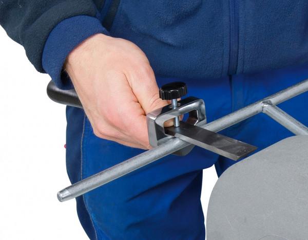 Vorrichtung für Flachmeißel und Hohleisen für NTS 250 Pro