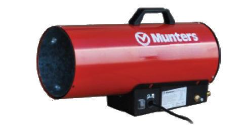 MUNTERS Gasheizgerät KID 15 M