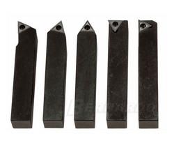 Drehmeisselsatz mit HM-Wendeplatten 10 mm