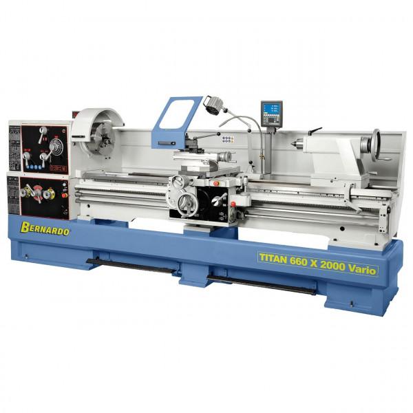 Produktions-Drehmaschine Titan 660 x 1500 Vario