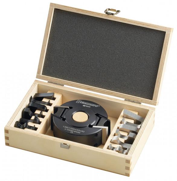 Universal-Profilmesserkopfset 100 x 40 x 30 mm