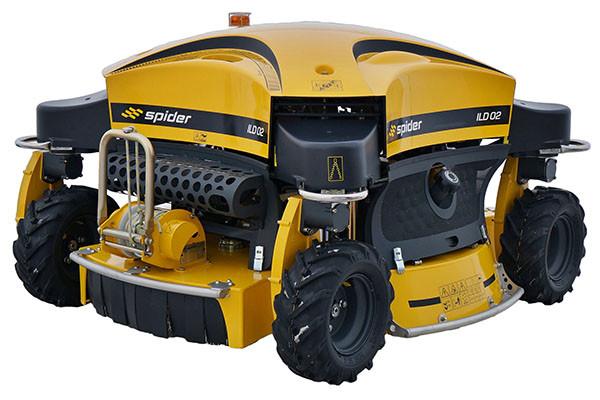 Vorführmaschine Spider ILD02 Großflächenmäher und Böschungsmäher mit Seilwinde