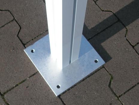 Boden-Aufschraubplatten-Set