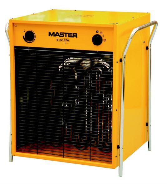 MASTER Elektroheizgerät B 22 EPB