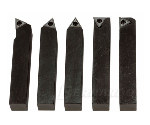 Drehmeisselsatz mit HM-Wendeplatten 12 mm