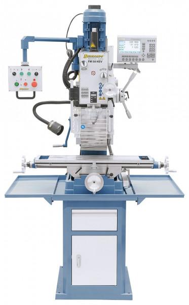 Bohr- und Fräsmaschine FM 50 HSV inkl. 3-Achs-Digitalanzeige