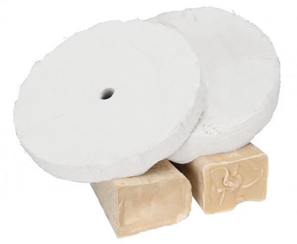 Polierset für Holz Ø 200 x 20 x 16 mm, 4-tlg.