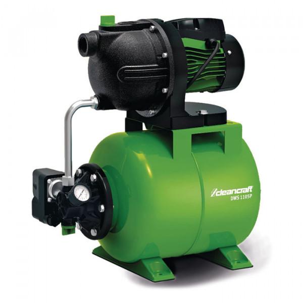 Hauswasserwerk DWS 1105P mit Gusspumpengehäuse Cleancraft
