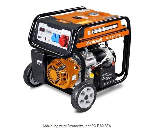 Synchron-Stromerzeuger PG-E 80 TEA