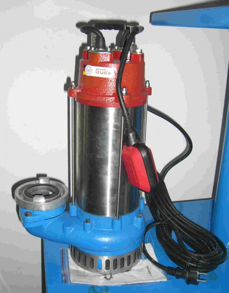 GÜDE Profi Schmutzwasser-Tauchpumpe PRO 2200 A inkl. B-Kupplung