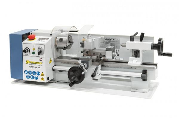 Tischdrehmaschine Hobby 350 VD inkl. Schnellwechselstahlhalter Einsätze