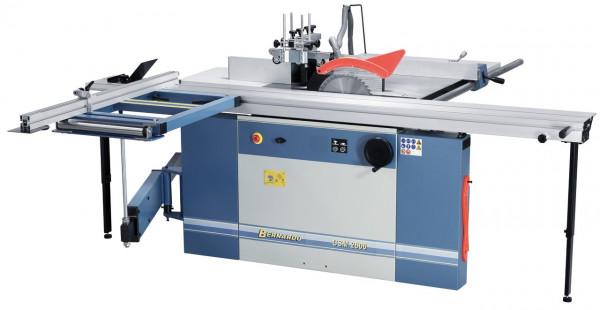 Kombinierte Formatkreissäge-Fräsmaschine CSM 2600