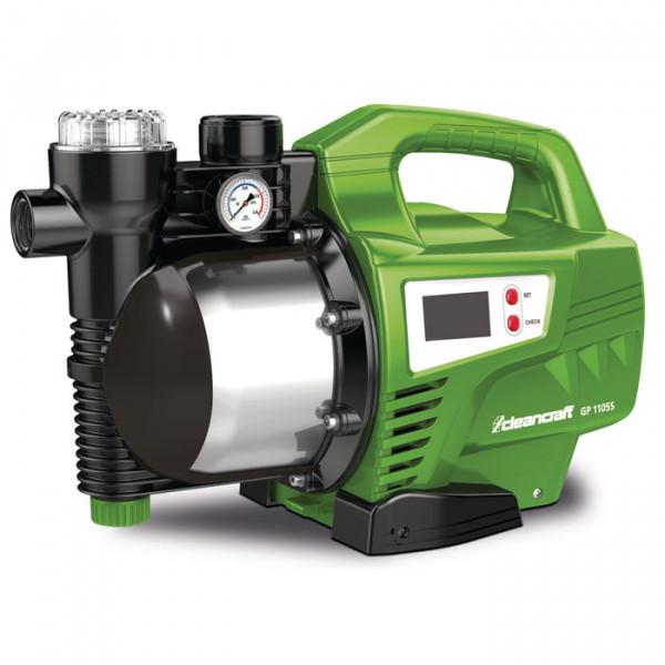 Klarwasser-Gartenpumpe GP 1105S mit intelligenter Steuerung Cleancraft