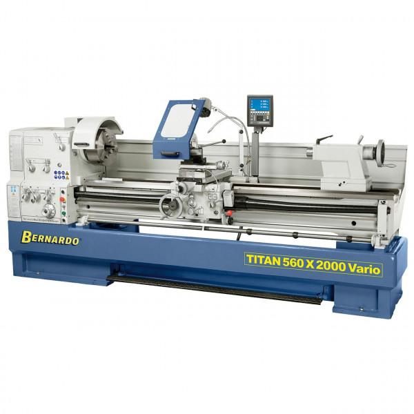 Produktions-Drehmaschine Titan 560 x 2000 Vario